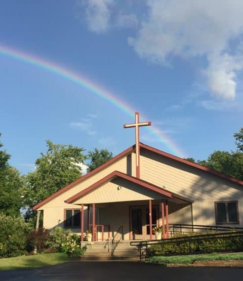 Church rainbow